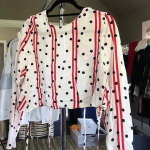 Zara patterned blouse